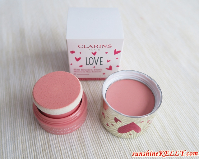 Clarins Skin Illusion Blush & Daily Energizer Lovely Lip Balm