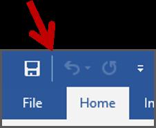 Memisahkan Perintah Pada Quick Access Toolbar 2