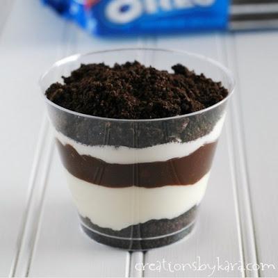 Resep Puding Coklat Oreo Sederhana, Cara Membuat Puding Coklat Oreo Sederhana