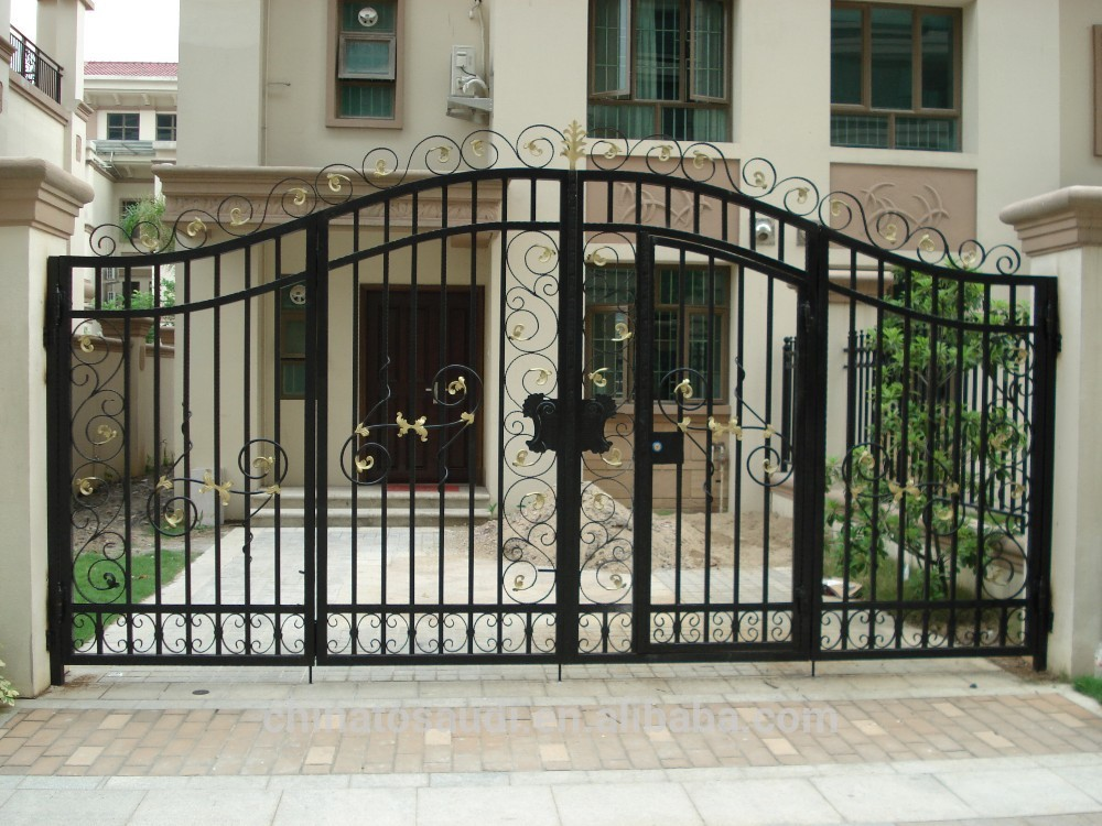 Front Elevation Design For Small Houses : Awesome gate style that you ll love decor units