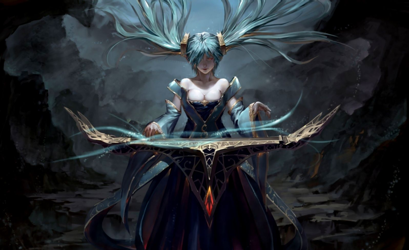 League Of Legends Sona Anime Custom Wallpaper Wallpapers 1080p