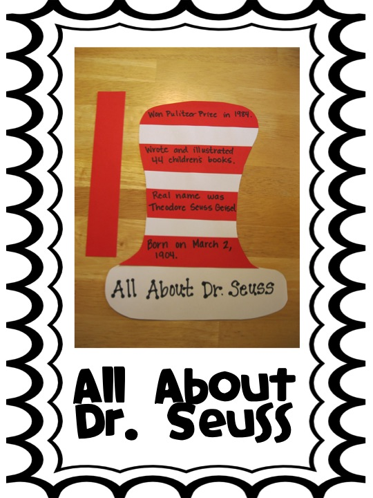 First Grade Fanatics Dr Seuss\u0027s Birthday