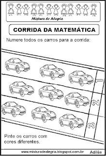 Atividades de matemática alfabetização