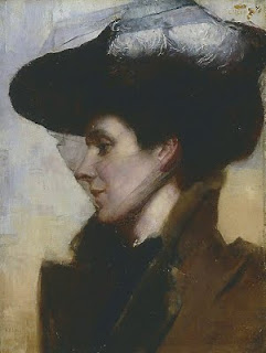 Eileen - Tom Roberts painting