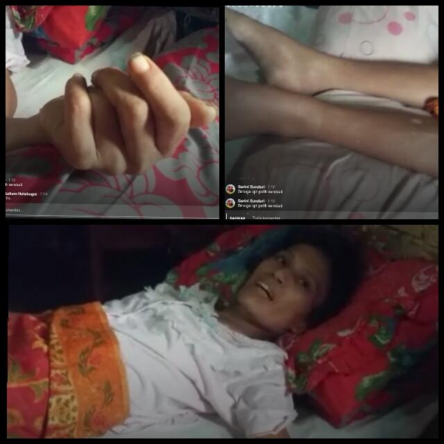 Ditinggalkan Suami, Punya Anak 4, Lenni Boru Hutajulu Terbaring Lumpuh Mohon Bantuan Donatur
