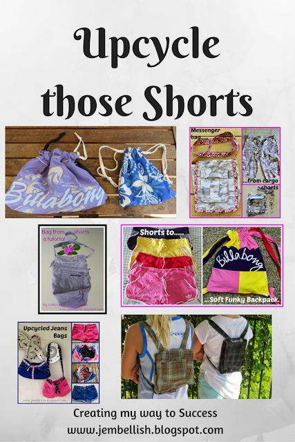 Upcycle those Shorts