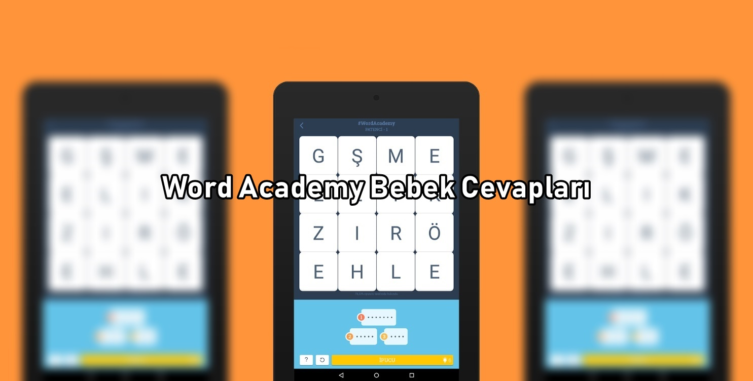 Word Academy Bebek Cevaplari