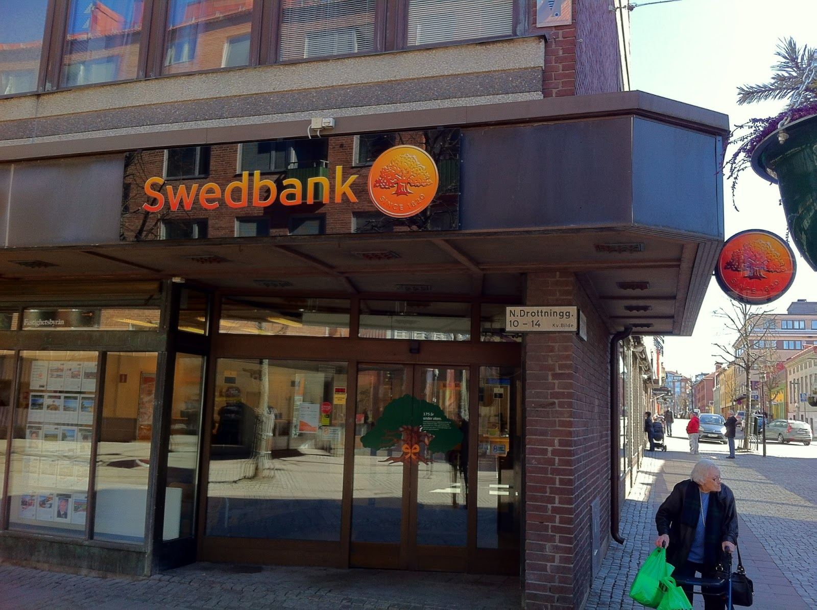 växla in mynt swedbank