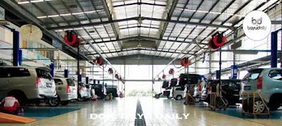 Bengkel Toyota Bali