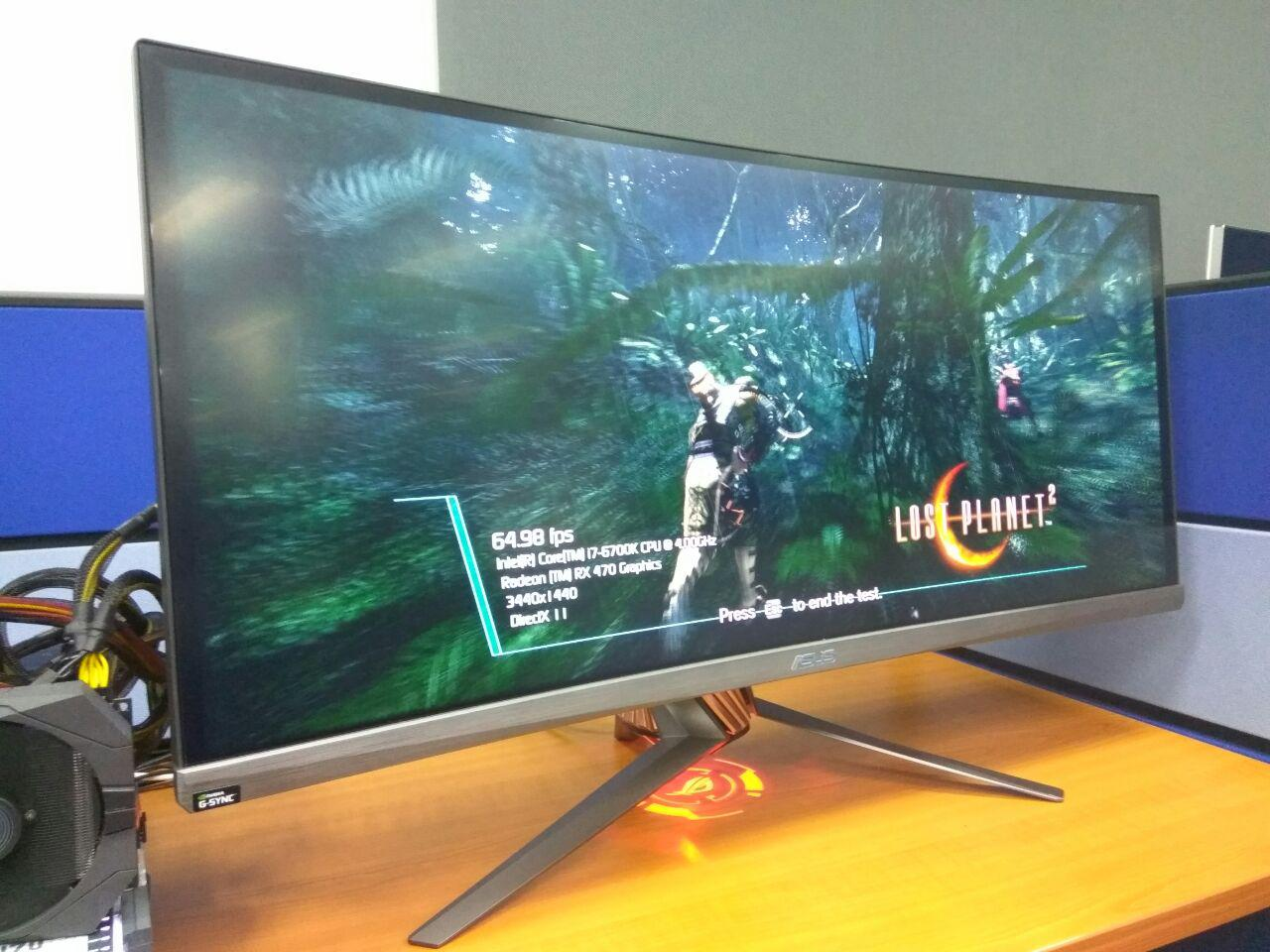 Ultimate Gaming Visual Experience – ASUS ROG SWIFT Curved Monitor