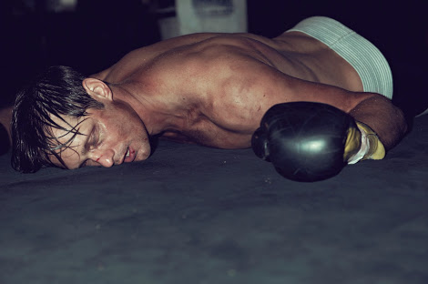 Alexander Skarsgard Knocked Out in M Magazine