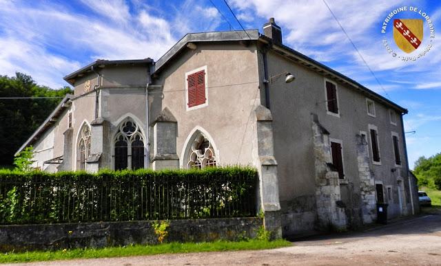 TOUL (54) - Chapelle gothique de Gare-le-Cou