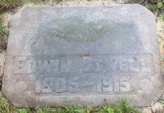 Edwin's gravestone