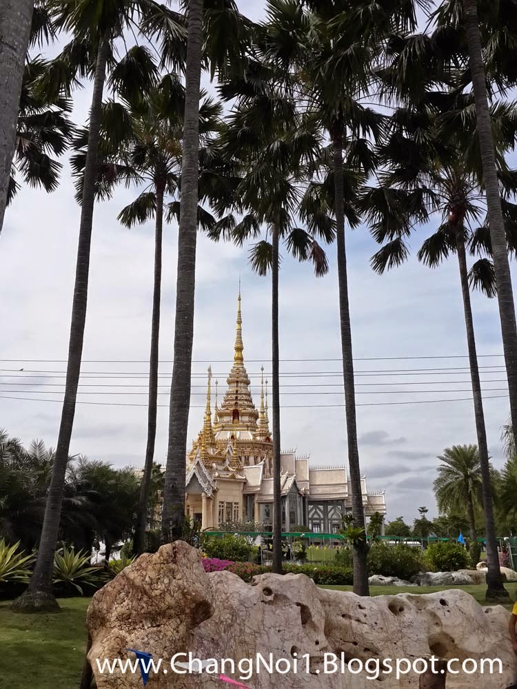 The Wat Luang Pho To in Sikhio, Thailand