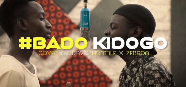 Download Video | David Humble X Zebron – Bado Kidogo Cover