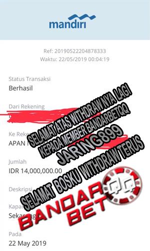 Withdraw Besar Lagi Member Bandarbetqq Agen Poker Online Gampang  Menang