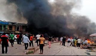 MAIDUGURI BOMB BLAST KILLS FIVE, INJURED 45—SEMA