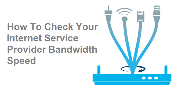 How to Check My Internet Provider