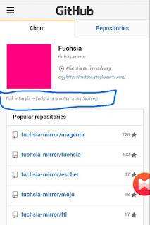Google new fuchsia OS