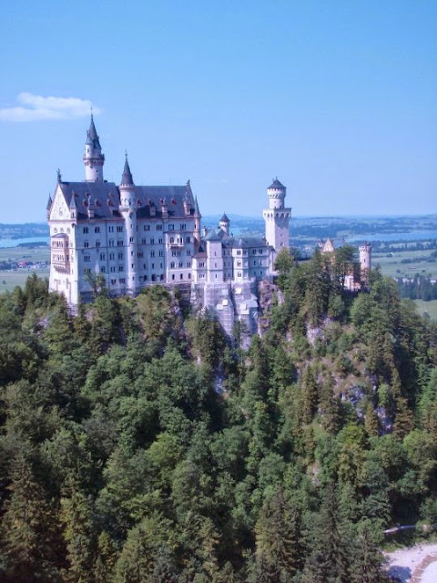 European bucket list, what's on yours?: Neuschwanstein Castle, an inspiration for Walt Disney's castles