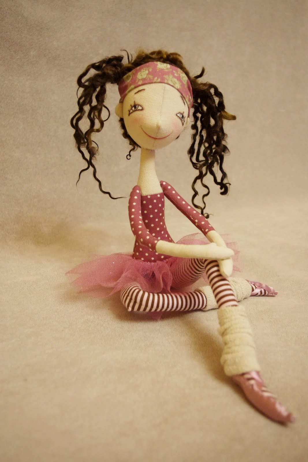 Куклы из ткани своими руками балерина