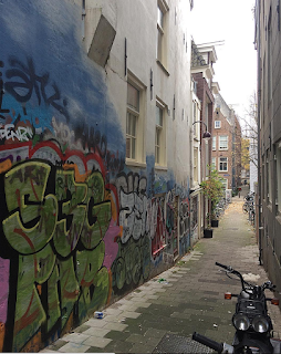 Graffiti Alley Amsterdam