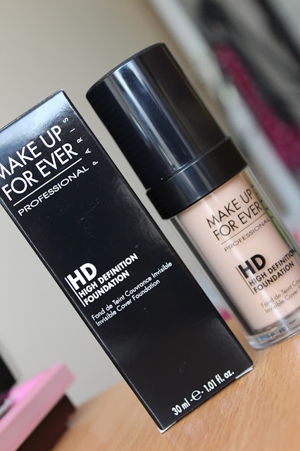 Make Up For Ever HD foundation N125