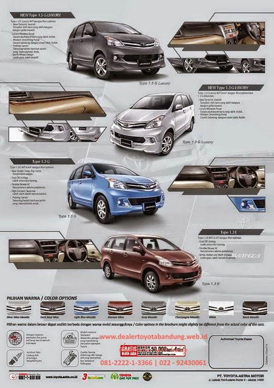 Grand New Avanza Veloz Luxury Corolla Altis On Road Price Dealer Toyota Info Harga Promo Dan Paket Lebaran All Bandung Subang Cimahi Rancaekek Garut Tasikmalaya 2014