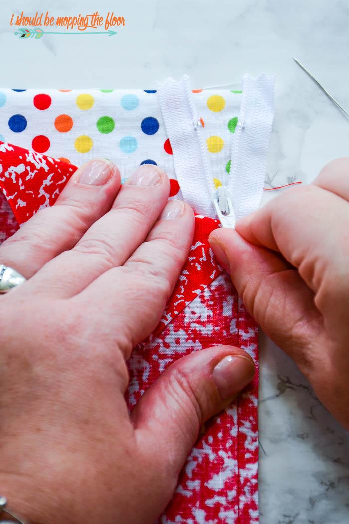 Sewing a Zipper