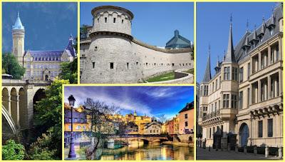 Luxemburgo ciudad collage