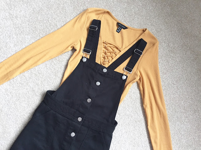 H&M Haul and Styling Denim Dungaree Dresses