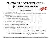 Lowongan  Kerja PT Cowell Development Tbk