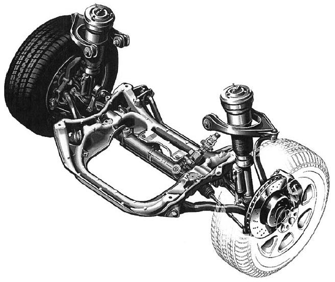1998 Mercedes Benz Slk Class Suspension: Maybach: 1.4 Front Mounted Engine, Rear Mounted Drive