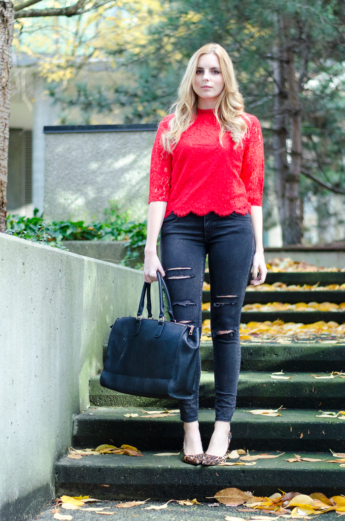 Vancouver Fashion Blog, How to Style Ripped Denim
