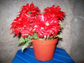 Contoh Bunga Dari Sedotan Plastik Bekas
