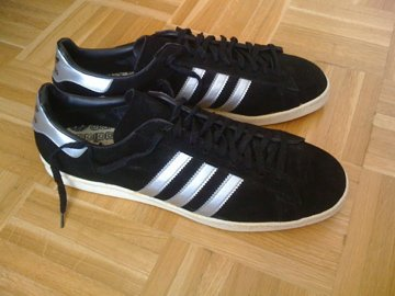 co2styles: VINTAGE ADIDAS CAMPUS MADE IN FRANCE SIZE 13