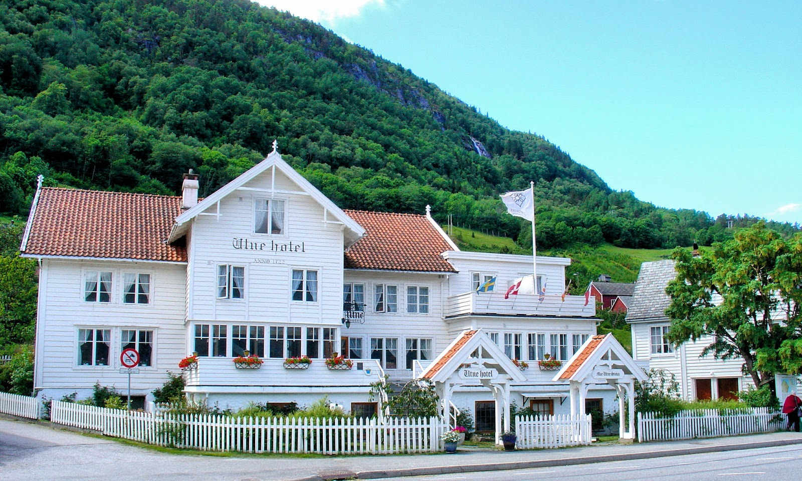 Hotel Utne is Norway's oldest hotel in continuous operation—since 1722.