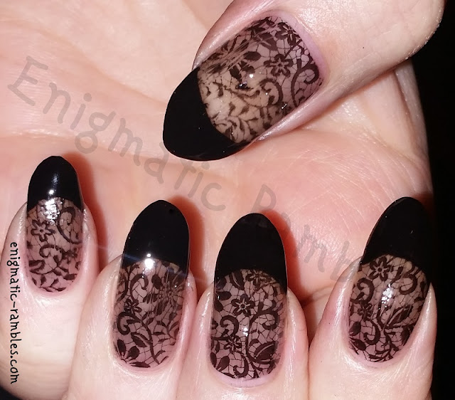 goth-alternative-black-lace-wedding-nails-nail-art