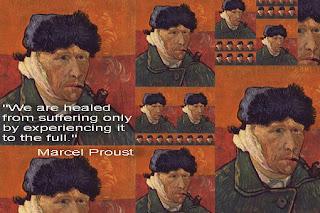 """""""Ние сме излекувани от страданието само когато го изживеем напълно."""""""