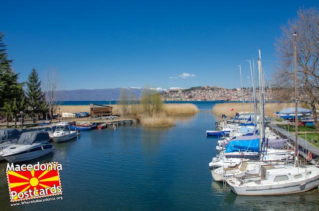Harbor - Ohrid city - Macedonia