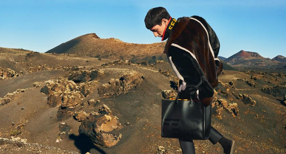 Fendi Menswear Fall Winter 2017 Ad Campaign