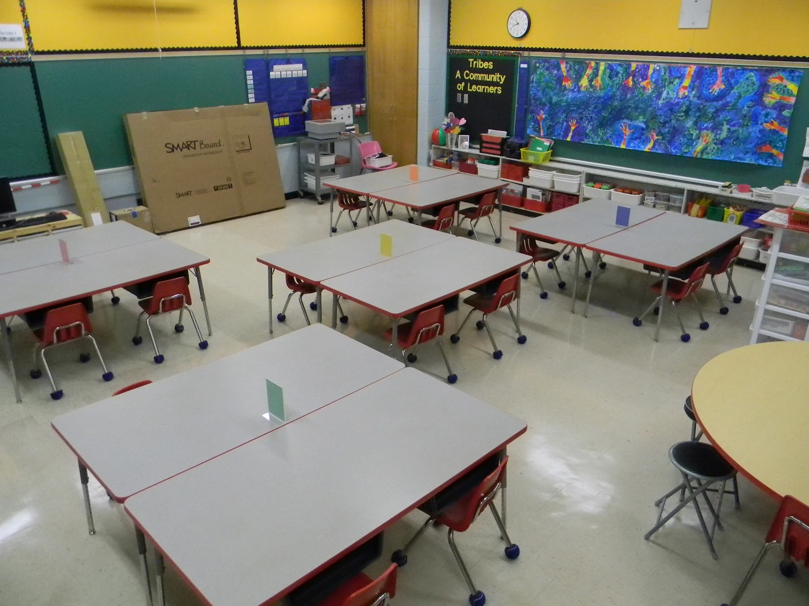 Ms  Sinclair's Grade One/Two: Our Classroom