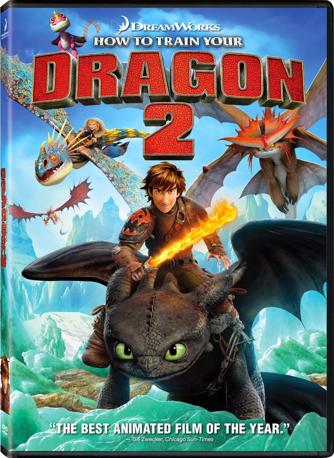 How to Tame Your Dragon 2 DVD