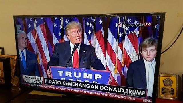 Gawat...! Donald Trump Menjadi Presiden AS, Ummat Muslim Bakal Tidak Bisa Masuk AS dan Muslim AS Bakal Diawasi Ketat