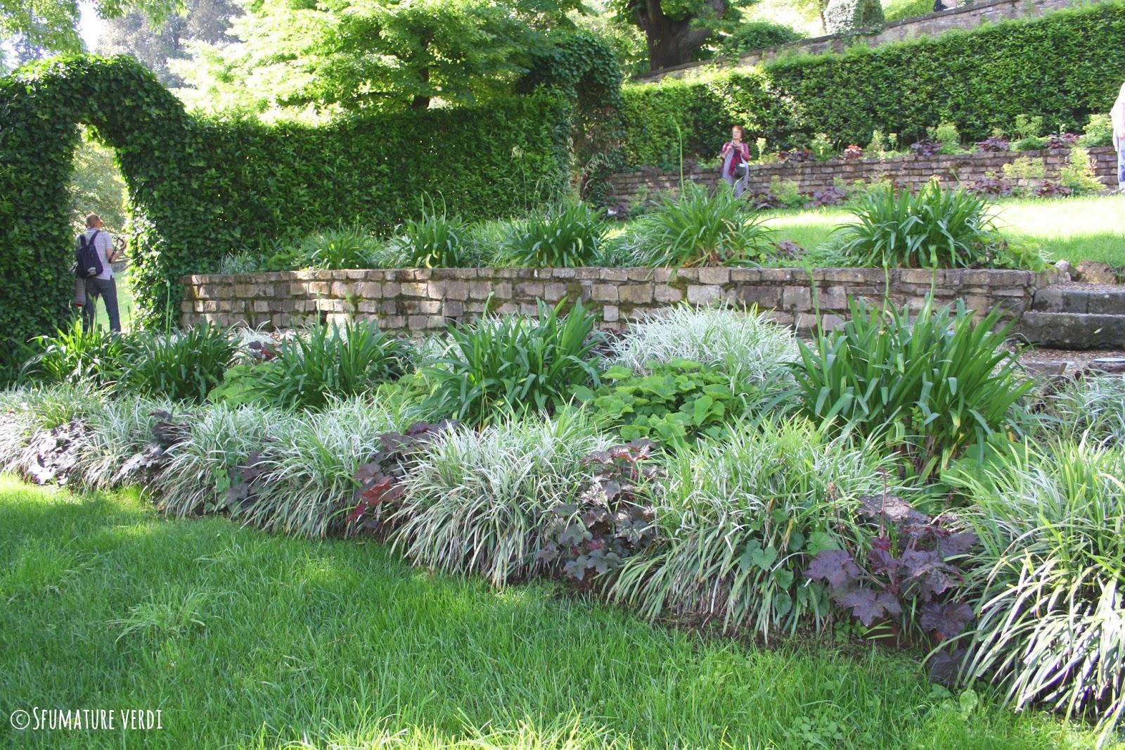 Il giardino di villa bardini un giardino storico nel - Muretti per giardino ...