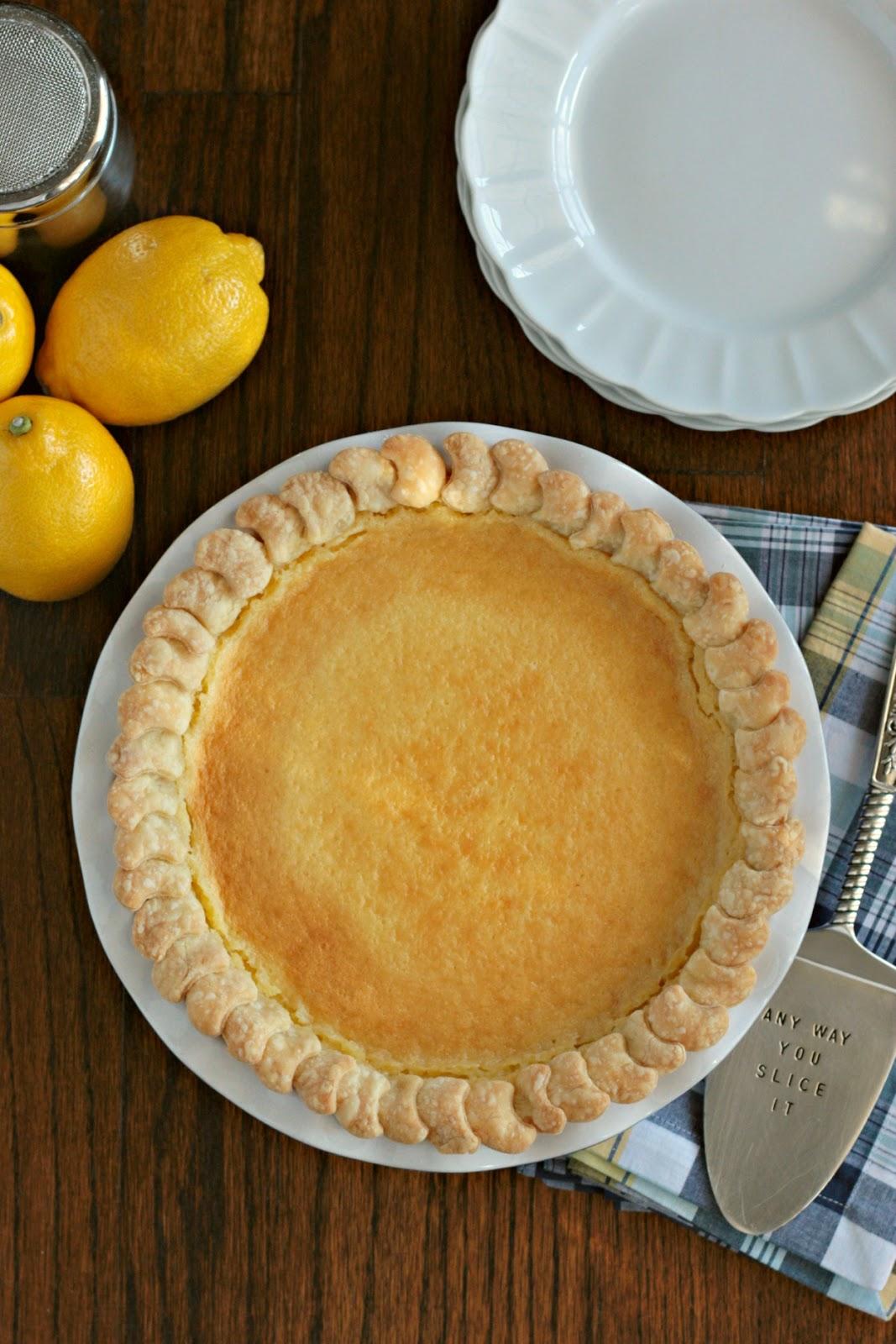 lemon chess pie 3