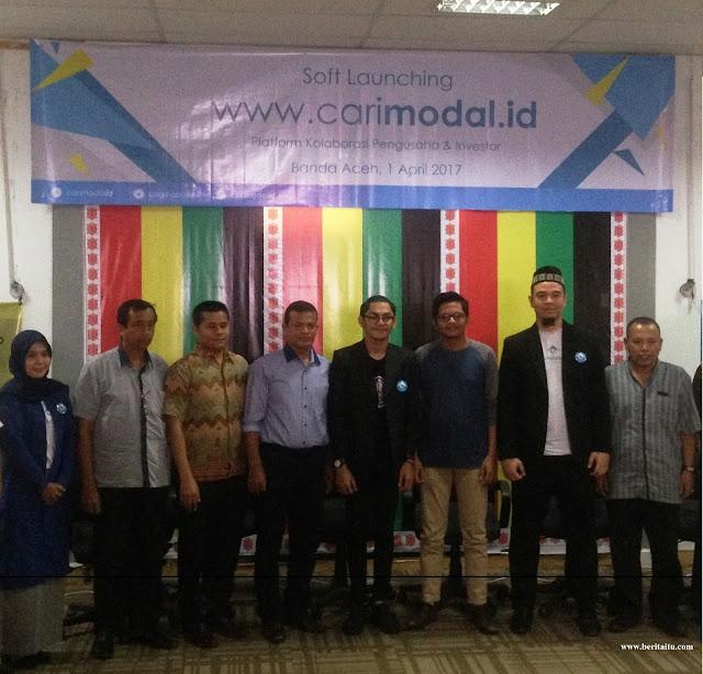 Soft Launching Carimodal.id diharapkan memberikan Cahaya Baru untuk pengusaha di Indonesia, terutama Aceh