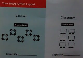 McDonald's office layout