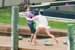 Dua Lipa  body huge    in tiny WET bikini WOW Beach Side  Pics Celebs.in Exclusive 009