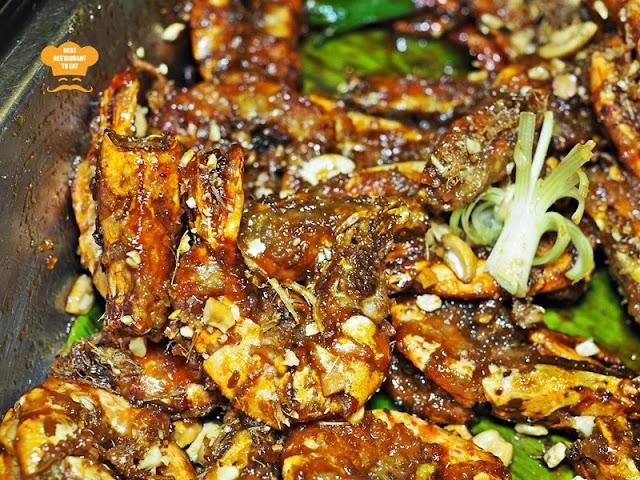 Saute Prawn with Tamarind Sauce Putrajaya Ramadhan 2018 Buffet - Aroi Dee